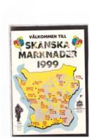 """TEM7202    -   """" VAELKOMMEN TILL SKAENSKA MARKNADER 1999 """" - Piazze Di Mercato"""