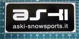 ASKI SNOWSPORTS STICKER KLEBER ADESIVO NEW ORIGINAL - Adesivi