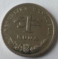 Monnaie - Croatie - 1 Kuna 2015 - - Croatie