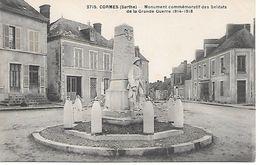 72    Cormes     Monument Aux Morts De 1914/1918 - Other Municipalities