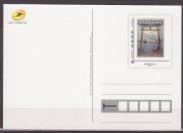 Type MonTimbraMoi Monde 20g Entier Carte Postale Messageries Maritimes Japon Extrème-Orient Cadre Phil@poste - PAP:  Varia (1995-...)