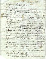 SUPERBE LETTRE AVEC 3 ECHANTILLONS DE TISSUS 1826 PARIS Pour COLMAR T.B.E V. SCANS+HISTORIQUE - Francia