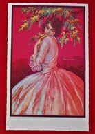 CPA Illustrateur Corbella - Femme Et Fleurs/ Edt Degammi - Corbella, T.