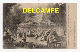 DF / SPORTS / CHASSE À COURRE / L'ISLE-ADAM (VAL D'OISE) / RENDEZ-VOUS DE CHASSE DU PRINCE DE CONTI, TABLE DE CASSAN - Caccia