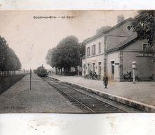 Condé  En  Brie -  La  Gare. - France