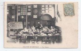 37 - METTRAY -  LA COLONIE - ENSEIGNEMENT - UNE SALLE DE CLASSE (TYPIQUE) - À VOIR - PRECURSEUR - Mettray