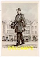 DF / POSTE & FACTEURS / FACTEUR DE VILLE (1855) D'APRÈS UN DESSIN DE JAMES THIRIAR ILLUSTRATEUR - Poste & Facteurs