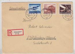 Deutsches Reich R-Brief Mit WHW-Frankatur - Lettres & Documents