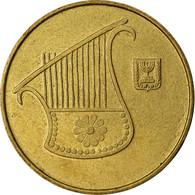 Monnaie, Israel, 1/2 New Sheqel, 1993, TTB, Aluminum-Bronze, KM:159 - Israel