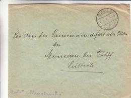 Belgique - Lettre De 1916 - General Gouvernement In Belgien - Oblit Brüssel - Exp Vers Liège - Guerre 14-18