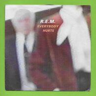 Disque Vinyle 45 Tours :  REM : EVERYBODY HURTS..Scan A  : Voir 2 Scans - Vinyles