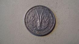 MONNAIE AFRIQUE DE L'OUEST 1 FRANC 1965 - Münzen