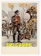 DF / POSTE & FACTEURS / CONDUCTEUR (19e S.) D'APRÈS UN DESSIN DE JAMES THIRIAR ILLUSTRATEUR - Poste & Facteurs