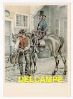 DF / POSTE & FACTEURS / POSTILLON DU PAYS DE LIÈGE (1830-1840) D'APRÈS UN DESSIN DE JAMES THIRIAR ILLUSTRATEUR - Poste & Facteurs