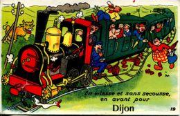 N°1081 R -carte à Systèmes  -en Avant Pour Dijon- (complet) - Mechanical