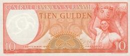 10 FLORINS 1963 - Surinam
