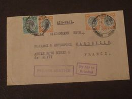 Tanganyka  Lettre  Par Avion    Du 05 07 1934 De Dar Es Salaam Pour Marseille - Kenya, Uganda & Tanganyika