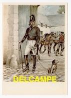 DF / POSTE & FACTEURS / MAÎTRE DE POSTE (1830-1850) D'APRÈS UN DESSIN DE JAMES THIRIAR ILLUSTRATEUR - Poste & Facteurs