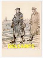 DF / POSTE & FACTEURS / LE FACTEUR AUX ARMÉES (1916) D'APRÈS UN DESSIN DE JAMES THIRIAR ILLUSTRATEUR - Poste & Facteurs