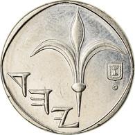 Monnaie, Israel, New Sheqel, 1989, SUP, Copper-nickel, KM:160 - Israel