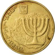 Monnaie, Israel, 10 Agorot, 1988, TTB, Aluminum-Bronze, KM:158 - Israel