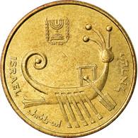 Monnaie, Israel, Agora, 1987, TTB, Aluminum-Bronze, KM:171 - Israel