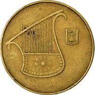 Monnaie, Israel, 1/2 New Sheqel, 1986, TTB, Aluminum-Bronze, KM:159 - Israel