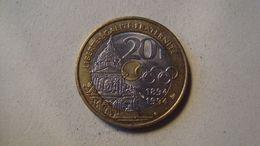 MONNAIE FRANCE 20 FRANCS COURBERTIN 1994 - France