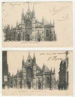 59 - Dunkerque - Eglise Saint-Eloi (2 Cartes) - Dunkerque