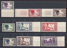 Laos 1952 MI 13 – 20 + 28 - Laos