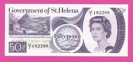 SAINT HELENE  Billet 50 Pence ( 1979 ) Sign 2 Pick 5 NEUF - Isla Santa Helena