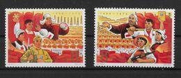 CHINA-CINA 1967 ** MNH LUSSO  MICHEL N.RI 964/65   2 VALORI    SEE   C356A - 1949 - ... People's Republic