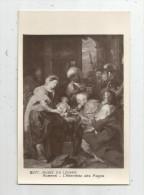 G-I-E , Cp , Arts , Peintures Et Tableaux , Vierge , Ed Des Musées Nationaux , Rubens , L'adoration Des Mages - Pittura & Quadri