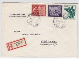 Deutsches Reich R-Brief Mit MIF - Lettres & Documents
