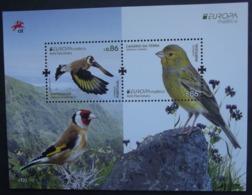 Madeira   Block  Europa  Cept   Nationale Vögel   2019    ** - 2019