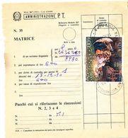 1990 NATALE 600 LIRE SINGOLO ISOLATO SU MODELLO 267 - 6. 1946-.. Repubblica