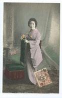 Geisha  Cachet  Tientsin 1911 - China