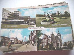 Nederland Holland Pays Bas Oss Met Ziekenhuis En Molenstraat - Oss