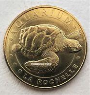 Monnaie De Paris 17.La Rochelle - Aquarium. La Tortue 2015 - Monnaie De Paris