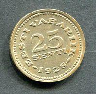 ESTONIA 1928 COIN 25 SENTI - Estland