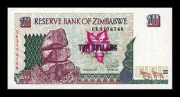 Zimbabwe 10 Dollars 1997 Pick 6 SC UNC - Simbabwe