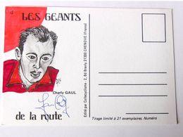 Charly GAUL - Signé / Dédicace Authentique / Autographe - Cycling