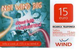 Télécarte COSTA RICA Prépayée WIND - 15 Euro (BIS) - Costa Rica