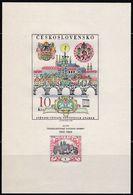CSSR, 1968, 1804 Block 29, MNH **, 50 Jahre Tschechoslowakische Briefmarken. - Blocs-feuillets
