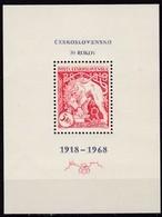 CSSR, 1968, 1831 Block 30, MNH **, Kettenbrechender Löwe, - Blocs-feuillets