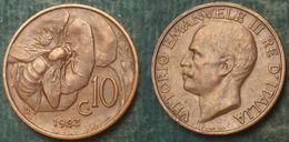 M_p> Regno Vitt Eman III° 10 Centesimi 1923 APE, BELLA Conservazione Per Il Tipo Di Moneta - 1861-1946 : Regno