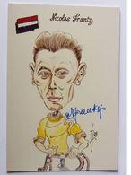 Nicolas FRANTZ - Signé / Dédicace Authentique / Autographe - Cyclisme