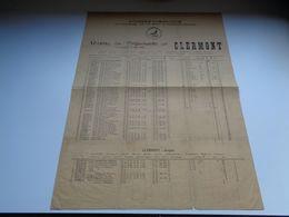 Document ( 118 )  Duivenmaatschappij - Uitslag Luigne - Tombrouck - Prijsvlucht Clermont 1928 Arras - Rollegem - Announcements