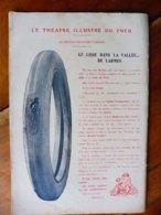 Dessin Publicitaire De E. L. Cousyn  Pour  Michelin (Le Théâtre Illustré Du Pneu)   LE LISSE DANS LA VALLÉE ...DE LARMES - Non Classés