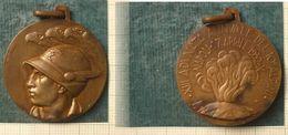 M_p> Medaglia XIII ADUNATA ANNUALE DEL X° ALPINI - NAPOLI 17 APRILE 1932 - X - Royaux/De Noblesse
